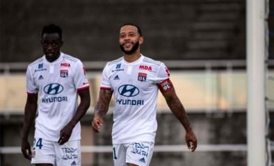 Vier goals, drie assists: Memphis Depay viert rentree bij Olympique Lyon op spectaculaire wijze