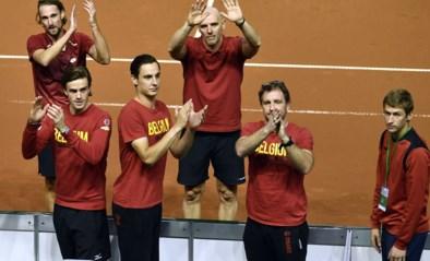Helft Davis Cupploeg én Davis Cupkapitein spelen eerste officiële postcoronatoernooi…in Antwerps park