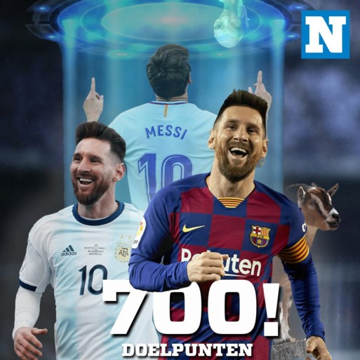 Lionel Messi scoort zijn 700ste doelpunt uit zijn carrière… met een panenka: de cijfers achter mijlpaal