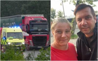 """Pedro (42) doet rijdende vrachtwagen stoppen, maar kan chauffeur niet meer redden: """"Ik had 7 jaar geleden zelf geluk,  deze man jammer genoeg niet"""""""