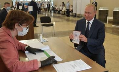 Poetin kan aanblijven tot 2036: 77,9% Russen keurt grondwetswijziging goed