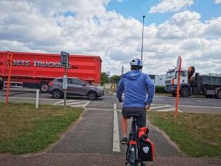 Oversteek Woluwelaan wordt veiliger voor fietsers: middeneiland, snelheidsbeperking en parkeerverbod op Zennebrug