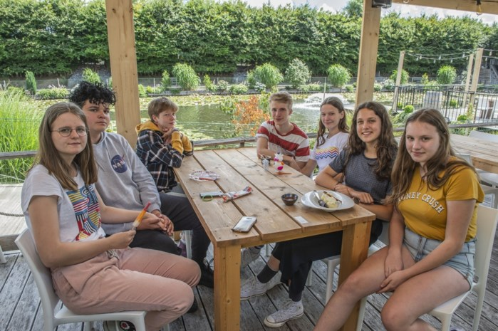 Zomerbar aan Meerhoek mikt op families met tearoom en strandje