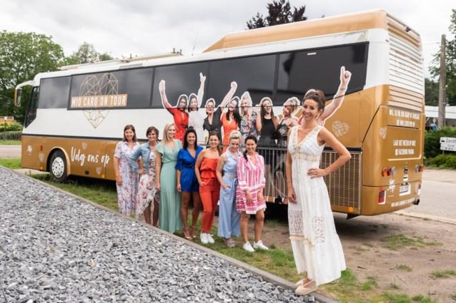 Kempense Romy Biscop uit 'The Sky Is The Limit' lanceert Mio Caro On Tour-fashionbus