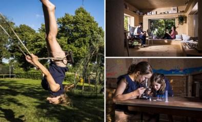 Ans en Michel ruilden hun huis met ministadstuintje in voor een kinderparadijs met boomhut, moestuin en poel