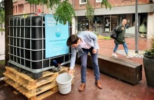 Eerste container met gratis 'werfwater'