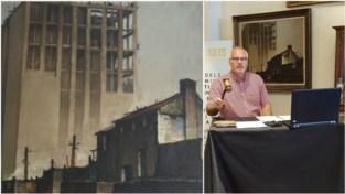 Op 1.200 euro geschat, voor 6.500 euro geveild: schilderij van Boekentoren blijft in Gentse handen