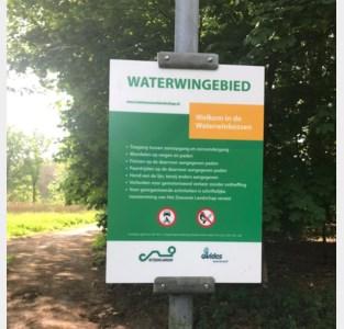 Nieuwe welkomstborden aan Waterwinbossen