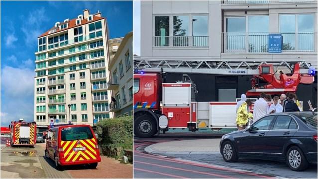 Sauna vat vuur in poepchic penthouse in Knokke, bewoners geëvacueerd