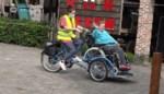 Deelsysteem rolstoelfietsen voor mensen met beperking