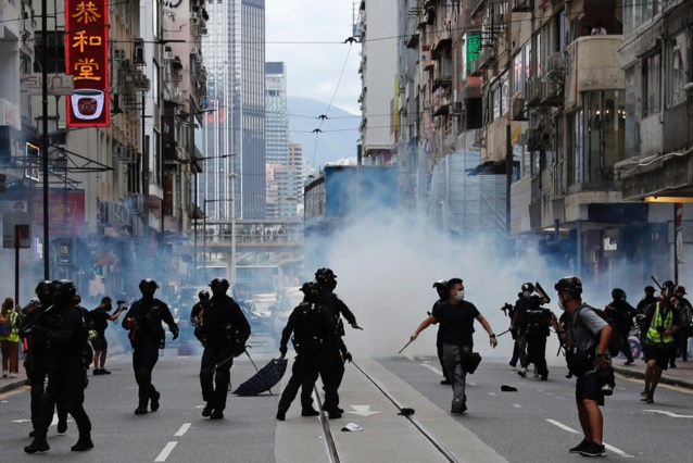 Eerste inbeschuldingstelling voor inbreuk op veiligheidswet in Hongkong