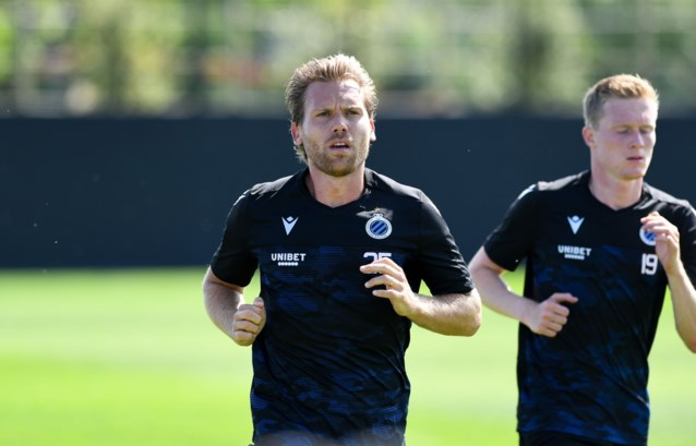 "Ruud Vormer daagt Simon Mignolet uit op training bij Club Brugge: ""Kijk die kop van hem!"""