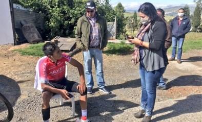 Nairo Quintana komt met de schrik vrij na aanrijding op training