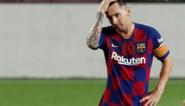 """Bommetje in La Liga: """"Lionel Messi zet contractonderhandelingen met Barcelona stop"""""""