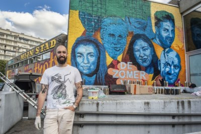 Graffiti Spillebad toont gezichten VTM-programma 'De Zomer Van'