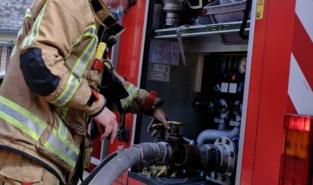 Brandweer redt man na brand in Brussels kraakpand