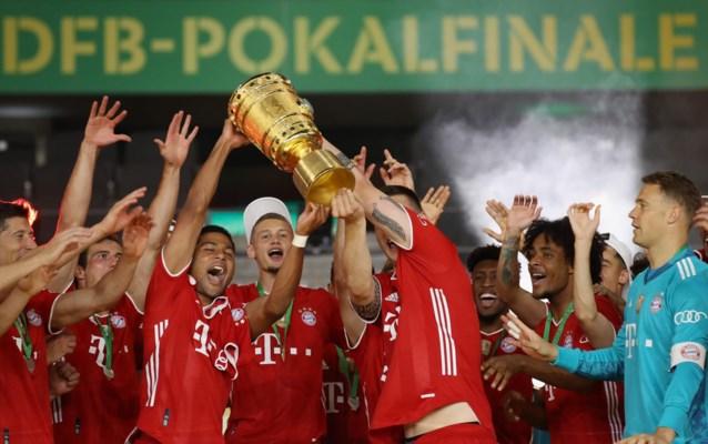 Bayern München pakt met twintigste bekerzege tweede Duitse dubbel op rij