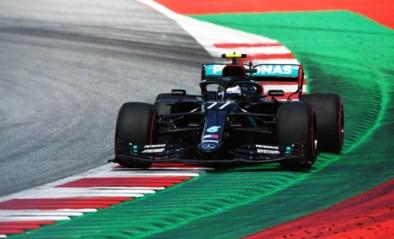 Valtteri Bottas snoept polepositie af van Lewis Hamilton in Oostenrijk