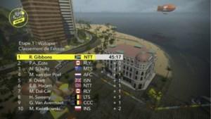 Zuid-Afrikaan wint eerste rit virtuele Tour, Mathieu van der Poel vierde