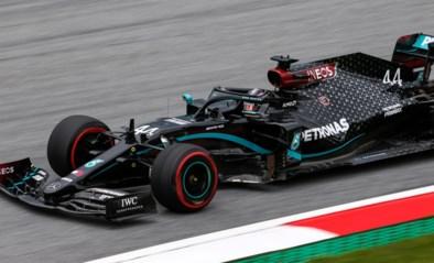 Lewis Hamilton blijft F1-weekend in Oostenrijk domineren