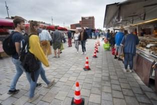 Zaterdagmarkt weer met volledige bezetting
