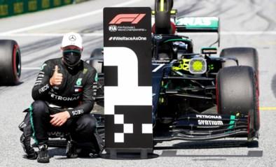 GP van Oostenrijk: Bottas in pole, gridpenalty voor Lewis Hamilton