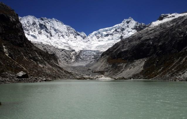 Helft Peruviaans gletsjeroppervlak gesmolten in halve eeuw