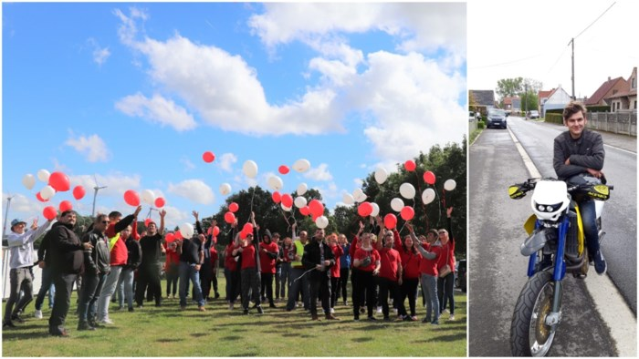 "Familie en vrienden eren Dylan Lommens (17) met herdenkingstocht: ""Dit doet zo'n deugd"""