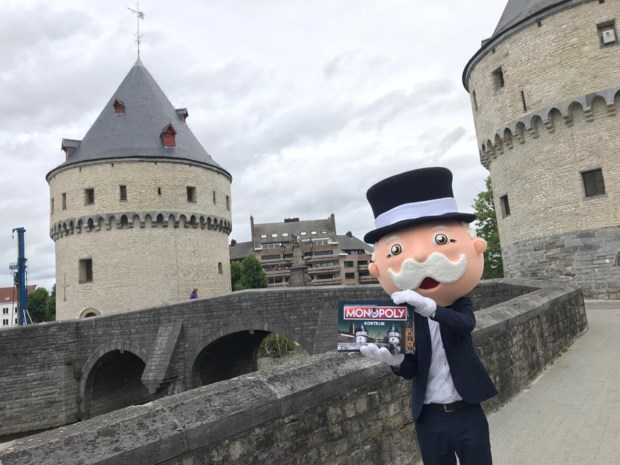 Tinekesfeesten en KV Kortrijk strijden om plaatsje op Monopoly-spelbord
