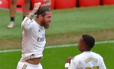 Ramos verlost Real nu ook bij Athletic Bilbao, titel komt dichterbij voor Courtois en co