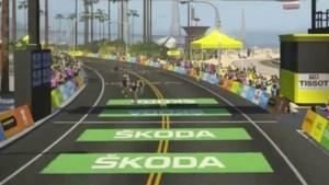 Fransman Bernard en Amerikaanse Stephens winnen tweede rit virtuele Tour