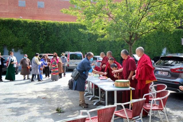 Tibetaanse gemeenschap viert Dalai Lama in Mortsel