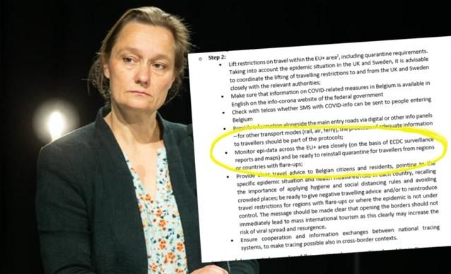 GEES vroeg op 3 juni al om quarantainemaatregelen voor vakantiegangers uit risicogebieden