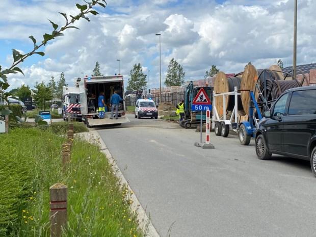 Vijf bedrijven geëvacueerd door gaslek tijdens graafwerken