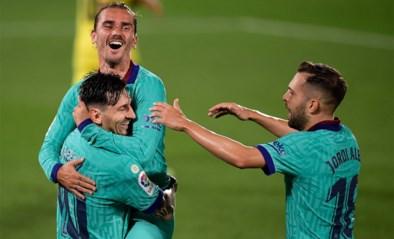 FC Barcelona wint van Villarreal en blijft in het spoor van Real Madrid