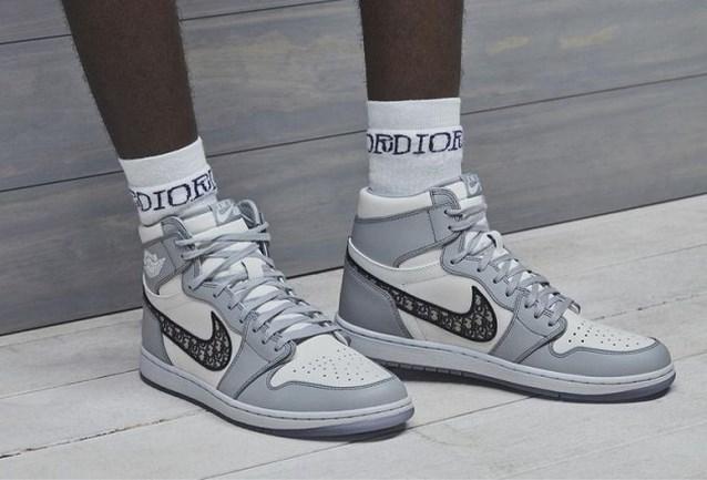 Meer dan vijf miljoen mensen probeerden de sneaker van Dior en Nike te kopen
