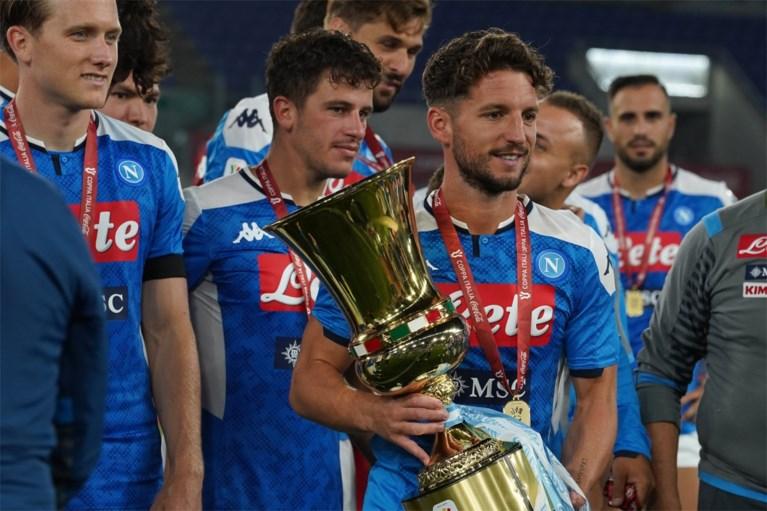 """Dries Mertens staat 27 punten achter, maar legt uit waarom hij gelooft in een titel met Napoli: """"Het gat met Juventus is minimaal"""""""