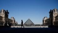 Louvre museum heropent de deuren na langste sluiting sinds Tweede Wereldoorlog