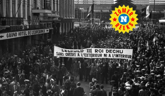 De zomer van 1950: de koning steekt het land in brand, er vallen drie doden