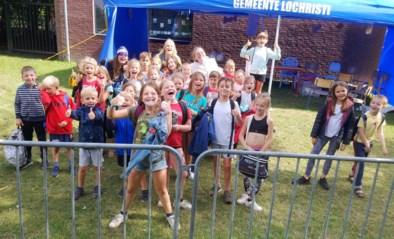 Joepla in bubbels komt op dreef: 260 kinderen op het speelplein