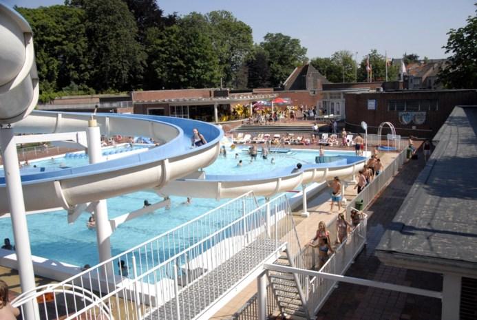 Zwembad Abdijkaai dicht tot zondag