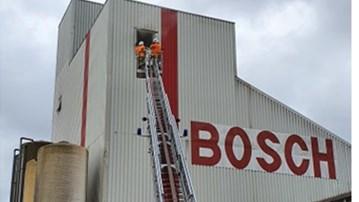 Brand in silo met 25 ton veevoeder