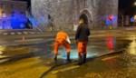 Grote waterleidingbreuk in Mechelen