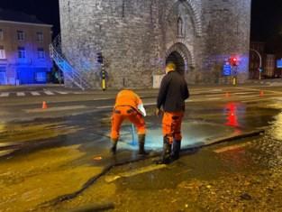 Inwoners hebben weer drinkwater na grote waterleidingbreuk in Mechelen