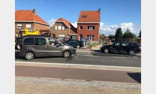 Vier lichtgewonden bij ongeval