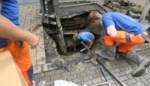 Groot waterlek in Mechelen