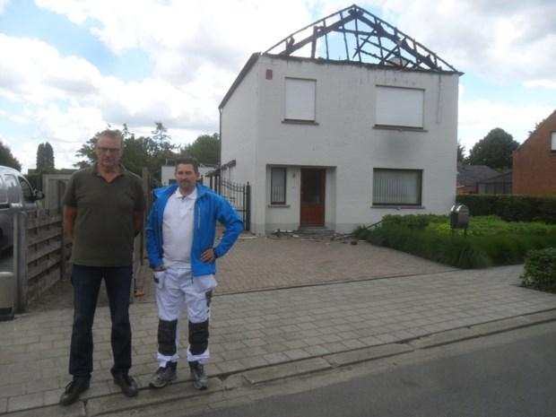 Schildersbedrijf wil uitgebrand huis gratis opnieuw onder handen nemen
