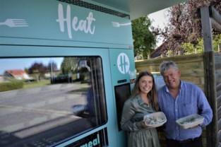 Winkel of restaurant? Neen, Macy (24) brengt kookkunsten aan de man via automaat Heat