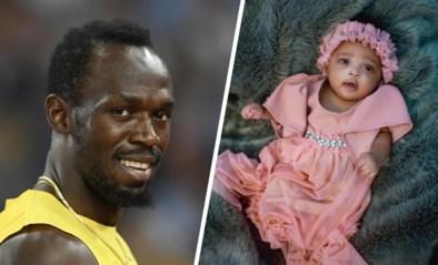 """""""Olympia Bliksemschicht"""", Usain Bolt heeft wel een heel bijzondere naam voor pasgeboren dochter"""