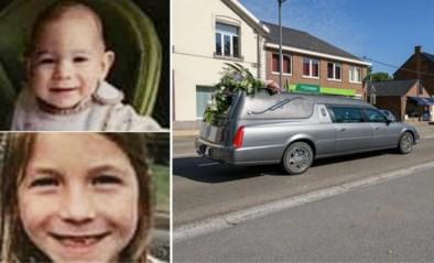 Pakkend afscheid van zusjes Orphée (2) en Cérès (7) die door hun mama om het leven werden gebracht